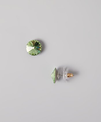 Peridot SWAROVSKI ELEMENTS Stud Earrings