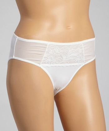 White Katarina French-Cut Briefs - Women & Plus
