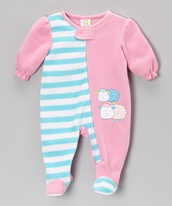 Pink Sheep Footie - Infant