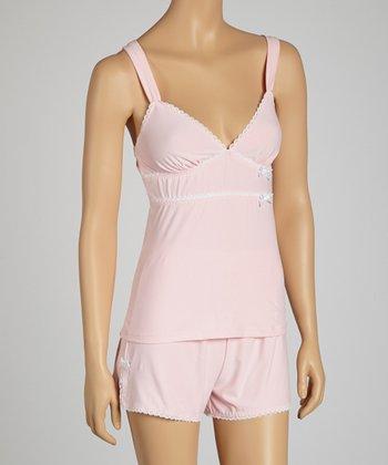 Dolce Vita Intimates Kiss Me Pink Pajama Set - Women