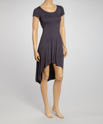 Slate Hi-Low Dress