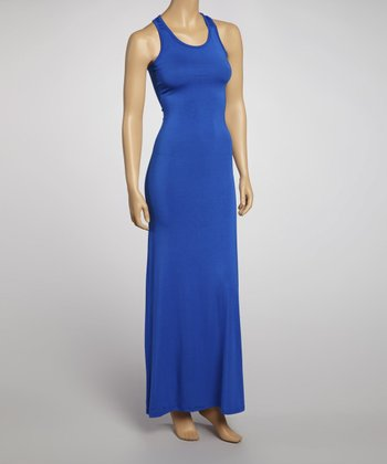 Royal Racerback Maxi Dress
