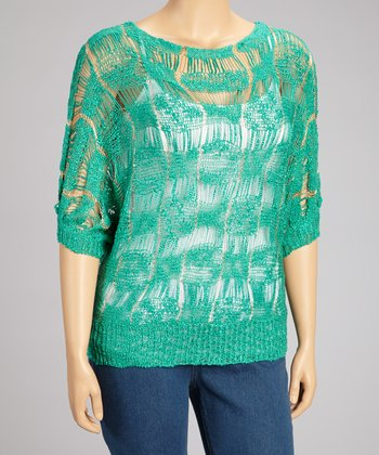 Jade Dolman Sweater - Plus