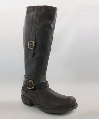 Brown Batavia Leather Boot