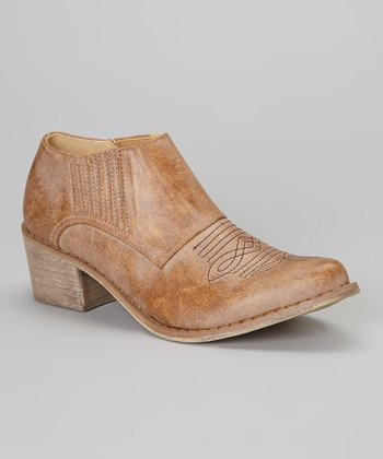 Tan Andy Ankle Boot