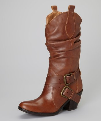 Cognac Willee Boot