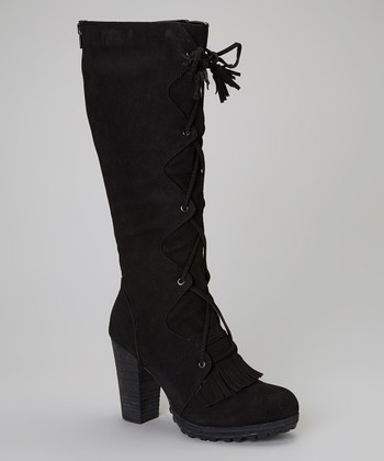 Black Burley Boot
