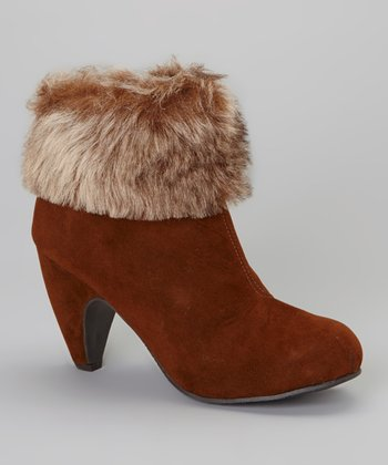 Saddle Elodie Bootie