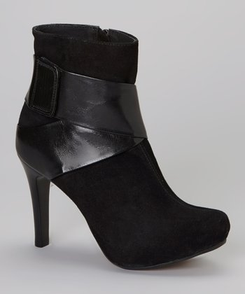 Black Swing Bootie