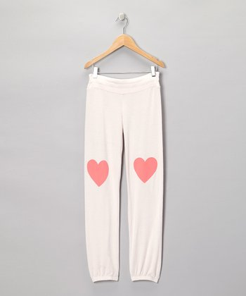 Strawberry Ice Heart Sweatpants