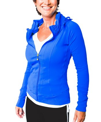 Ultra Blue Track Jacket