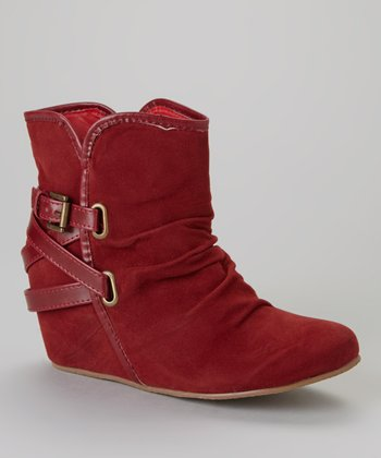 Burgundy Go 5 Boot