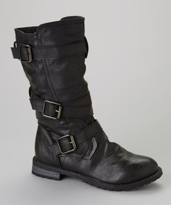 Black Tina 13 Boot