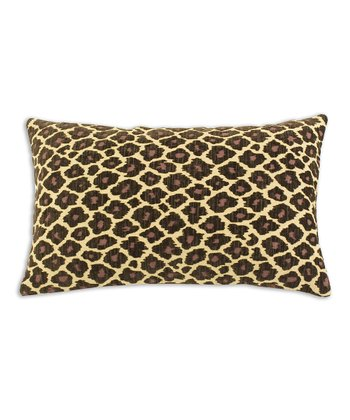 Taupe Simba Lumbar Pillow