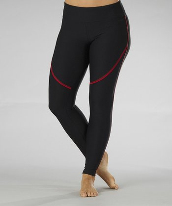 Tango Red Performance Leggings