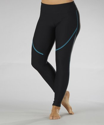 Blue Summit Performance Leggings