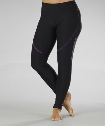 Purple Magic Leggings