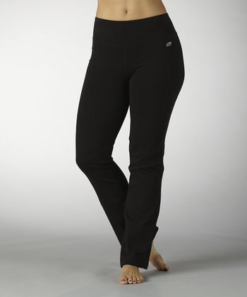 Black Slimming Yoga Pants