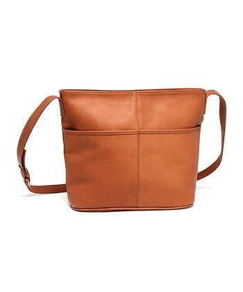Tan Pocket Tote
