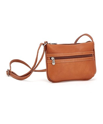 Tan City Crossbody Bag