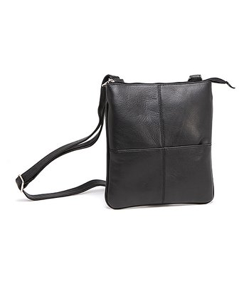 Black iPad Crossbody Bag