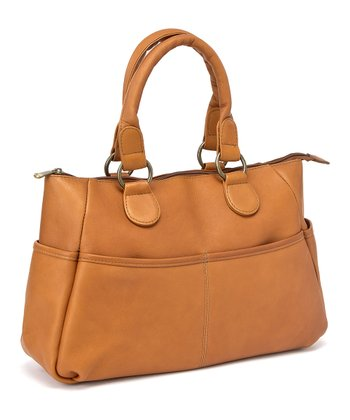 Tan Satchel