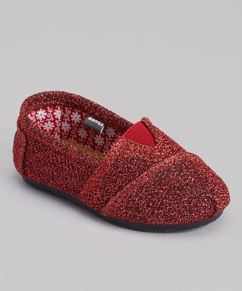 Dark Red Frost Kaymann Slip-On Shoe