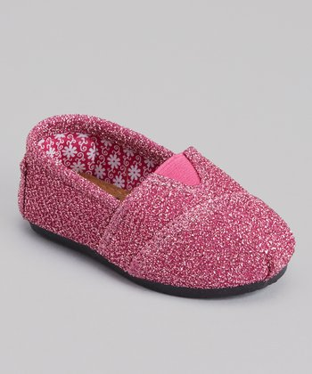 Hot Pink Frost Kaymann Slip-On Shoe