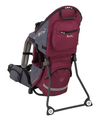 Burgundy Adventure Pack Carrier