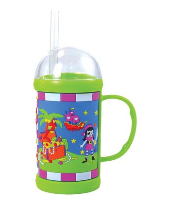 Pirate Girl Dome Mug