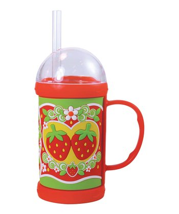 Strawberries Dome Mug