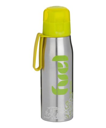 Green Fuel Stainless Steel 17-Oz. Sport Bottle