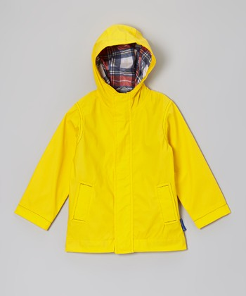 Yellow Rain Slicker - Toddler & Boys
