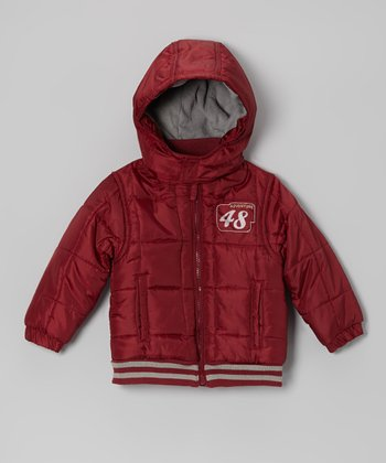 Bark Red 'Adventure 48' Jacket - Infant