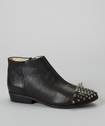 Black Titan Ankle Boot