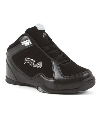 Black Leave It On The Court Hi-Top - Kids
