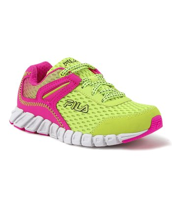 Neon Green & Pink Colorano Sneaker - Kids