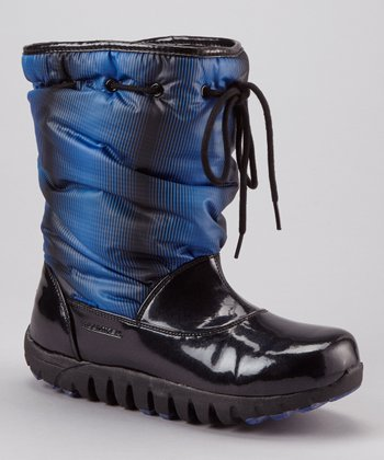 Blue Lisa Optical Gaiters Boot