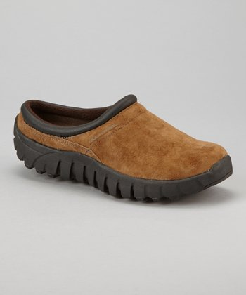 Stone Suede Lucia Slip-On Shoe - Women