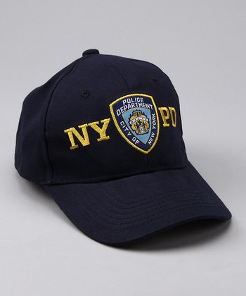 Blue 'NYPD' Baseball Hat
