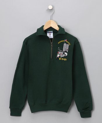 Green Highway Patrol Sweatshirt - Kids