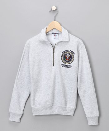 Gray Highway Patrol Sweatshirt - Kids