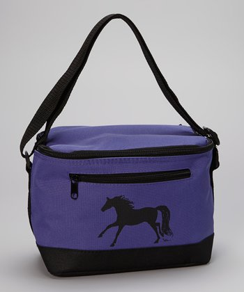 Purple Horse Lunch Bag