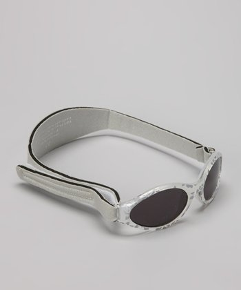 Silver Damask Full-Band Sunglasses
