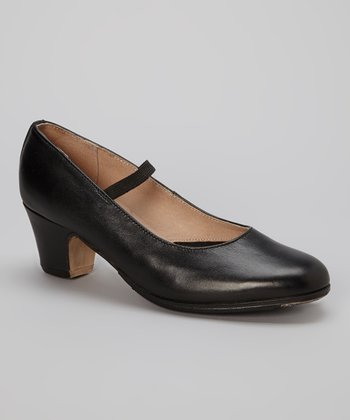 Black Flamenco Shoe - Women
