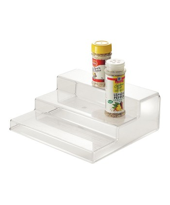 Clear Three-Tier Organizer