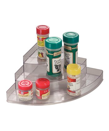 Clear Stadium Corner Spice Rack