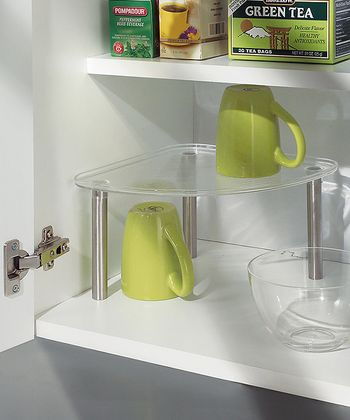 Clear Corner Shelf