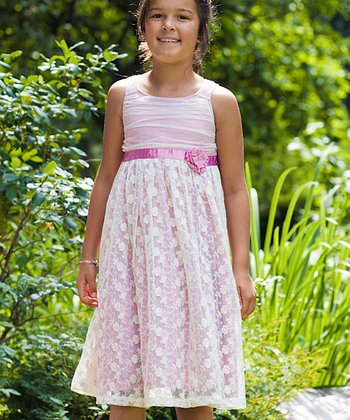 Rose Princess Dress - Toddler & Girls