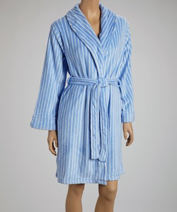 Blue Stripe Robe